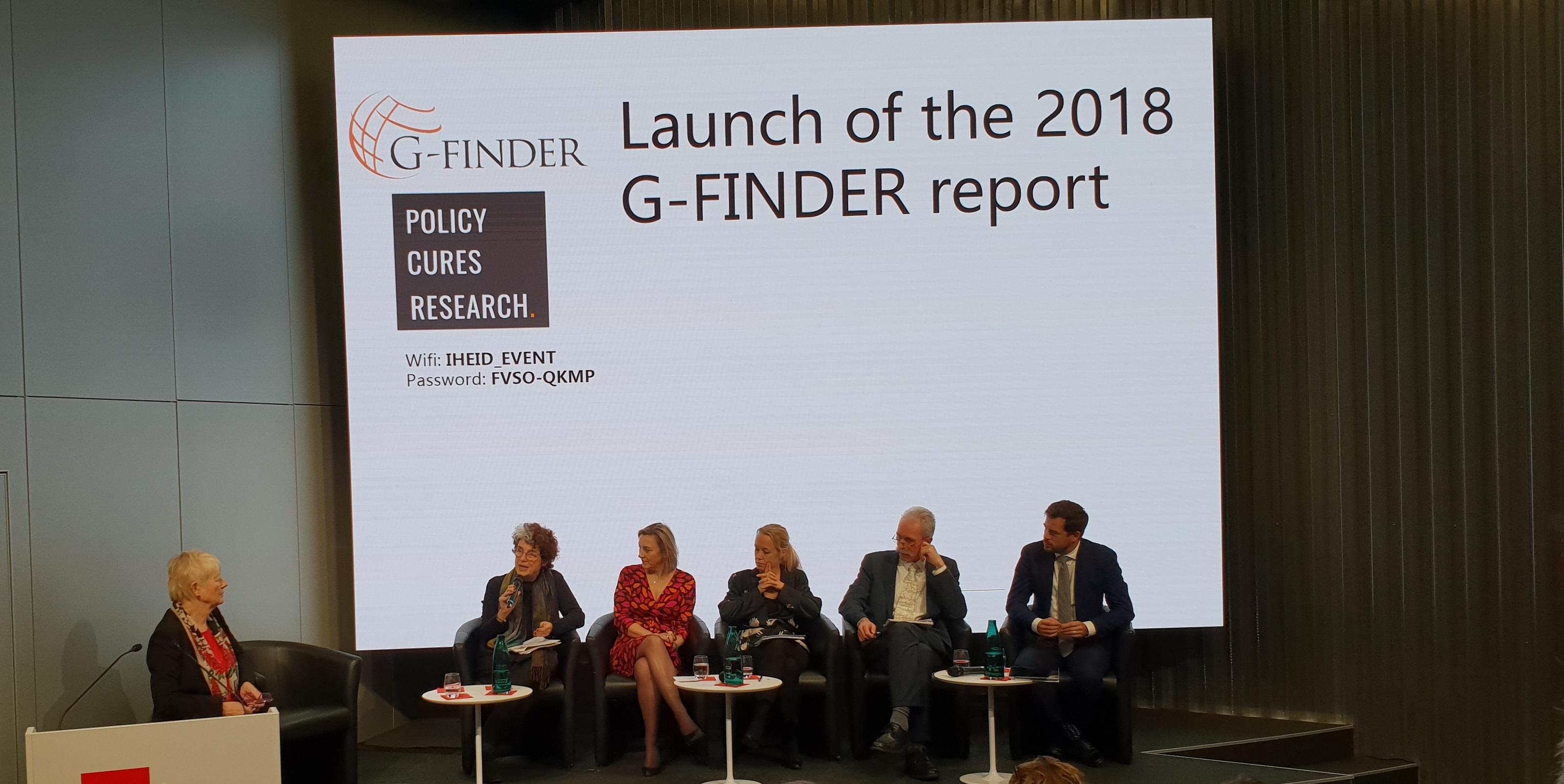 Lancierung G-FINDER in Genf